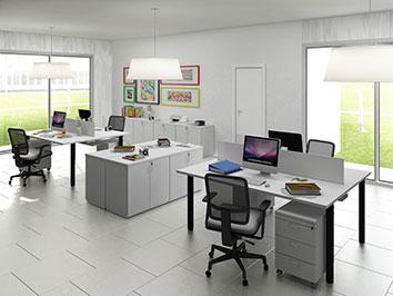 Divisórias piso-teto alto padrão e Mobiliário Corporativo