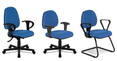Cadeira operacional linha Staff Plus