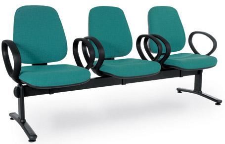 Cadeiras longarina Linha Viena