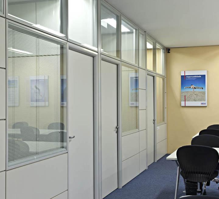 Divisória para escritório