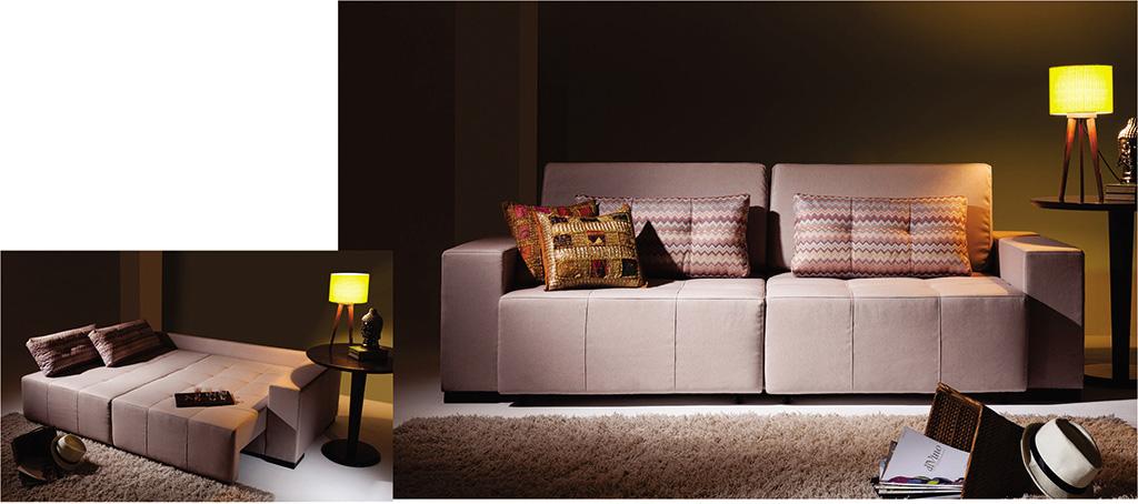 Sofá-cama para escritório e ambientes 3221