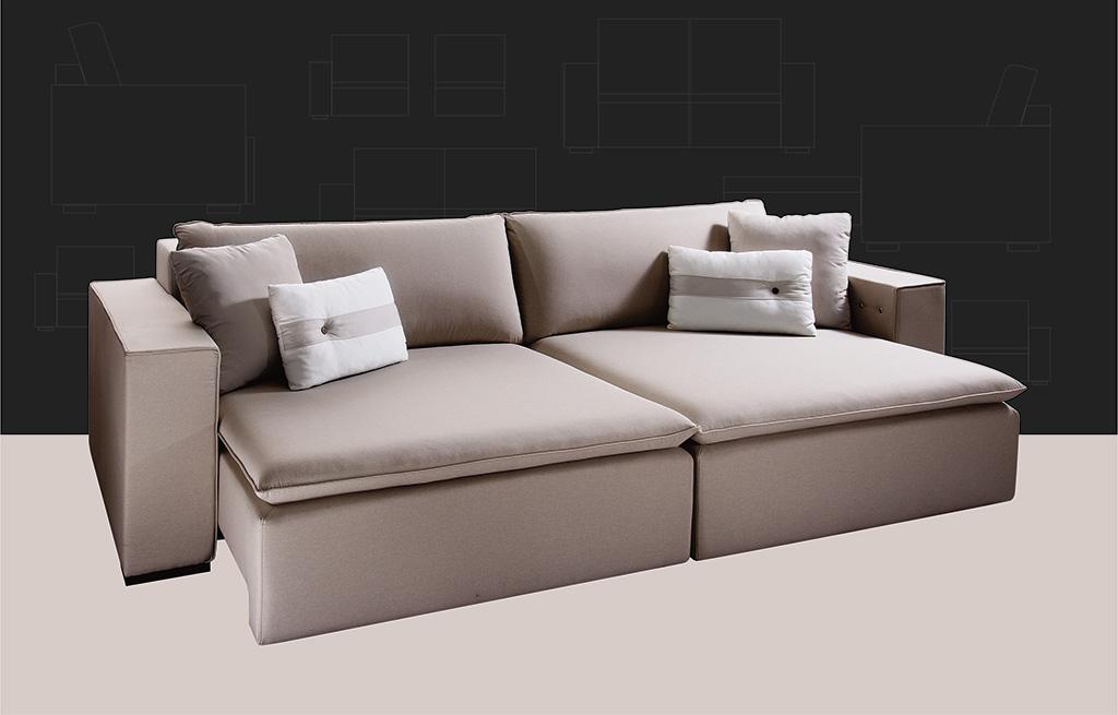 Sofá Retrátil para escritório e ambientes 5300