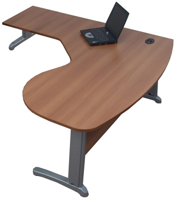 Mesa gerente peninsular para escritório