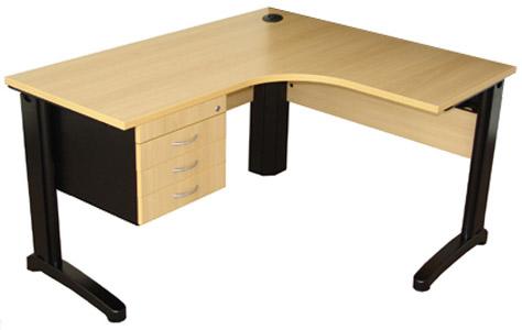 mesa em L para escritório