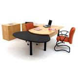 Mesa para escritório linha executiva